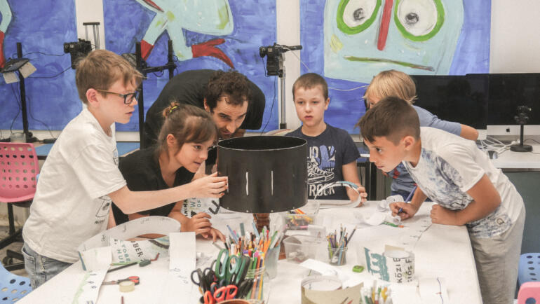 Creative summer day camps for kids