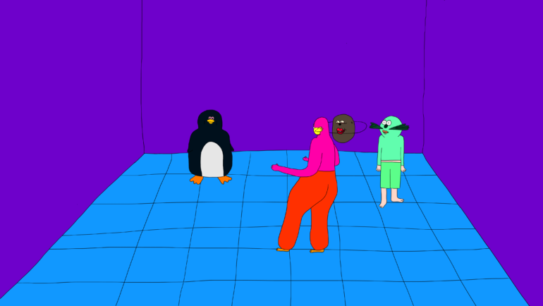 The Artist Behind a Commissioned Work: Creating a Short for Adult Swim